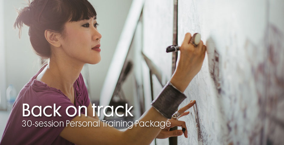 Back on track 30-session Personal Training Package
