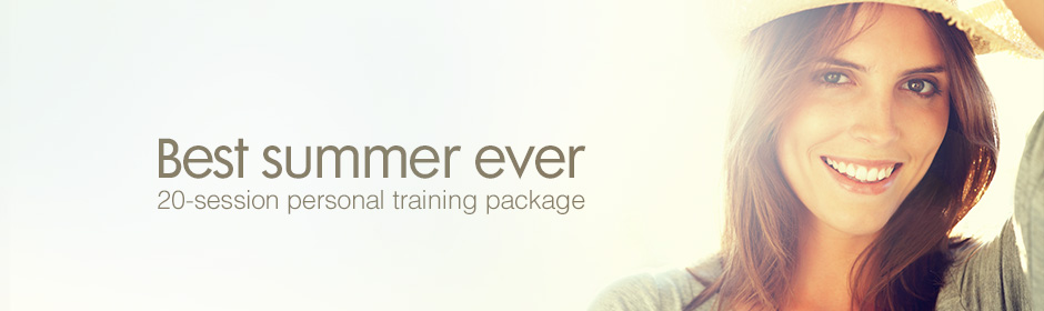 Best Summer Ever 20-Session Personal Training Package