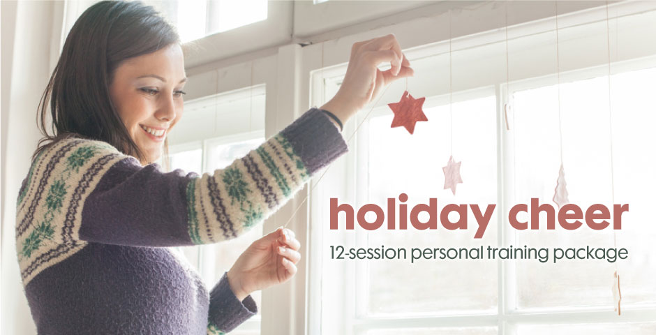 Holiday Cheer 12-Sesion Personal Training Package